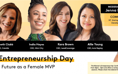 "Comcast VP Jenna Kurath to lead an expert Women's Entrepreneurship Day panel that encourages Women-Owned Businesses to ""Champion Your Future as a Female MVP"""